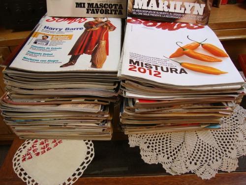revista somos del comercio gran coleccion bien conservadas