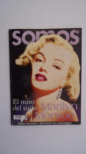 revista somos, marilyn monroe, el mito del siglo