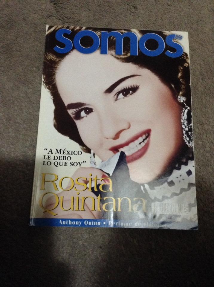 Revista Somos Rosita Quintana