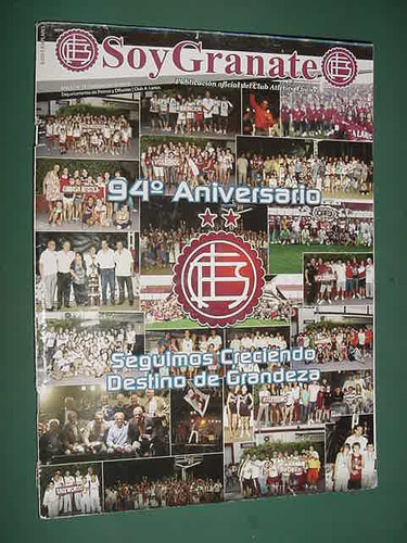 revista soy granate 19 club atletico lanus 94 aniversario