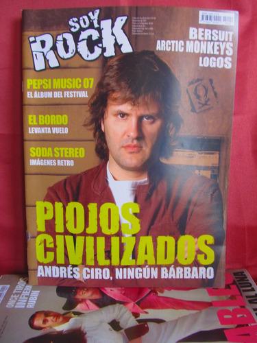 revista soy rock nro 42 piojos civilizados andres ciro