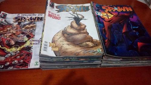 revista  spawn vários nºs: veja lista r$- 3,90 cada