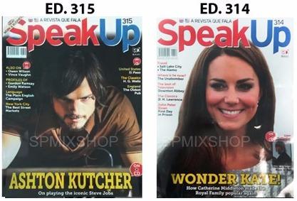 revista speak up com cd ingles varias edições frete r$10