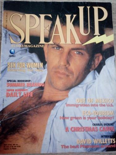 revista speak up december 1992 - kevin costner
