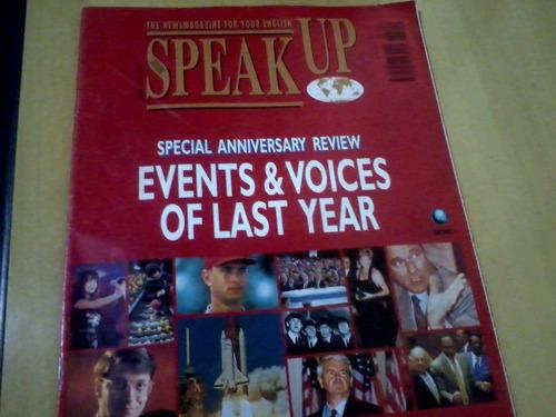 revista speak up nº109