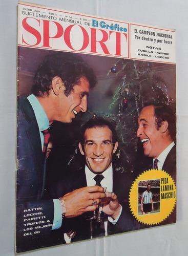revista sport nº 53 - velez campeon nacional 68