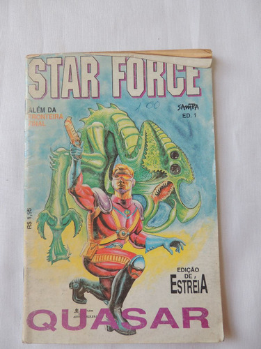 revista star force - estéia - nº 1 - ed. sampa   (b 93)
