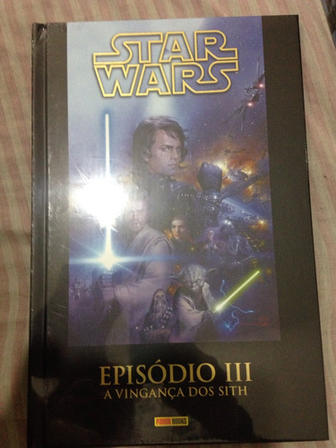 revista star war episódio 3 capa dura