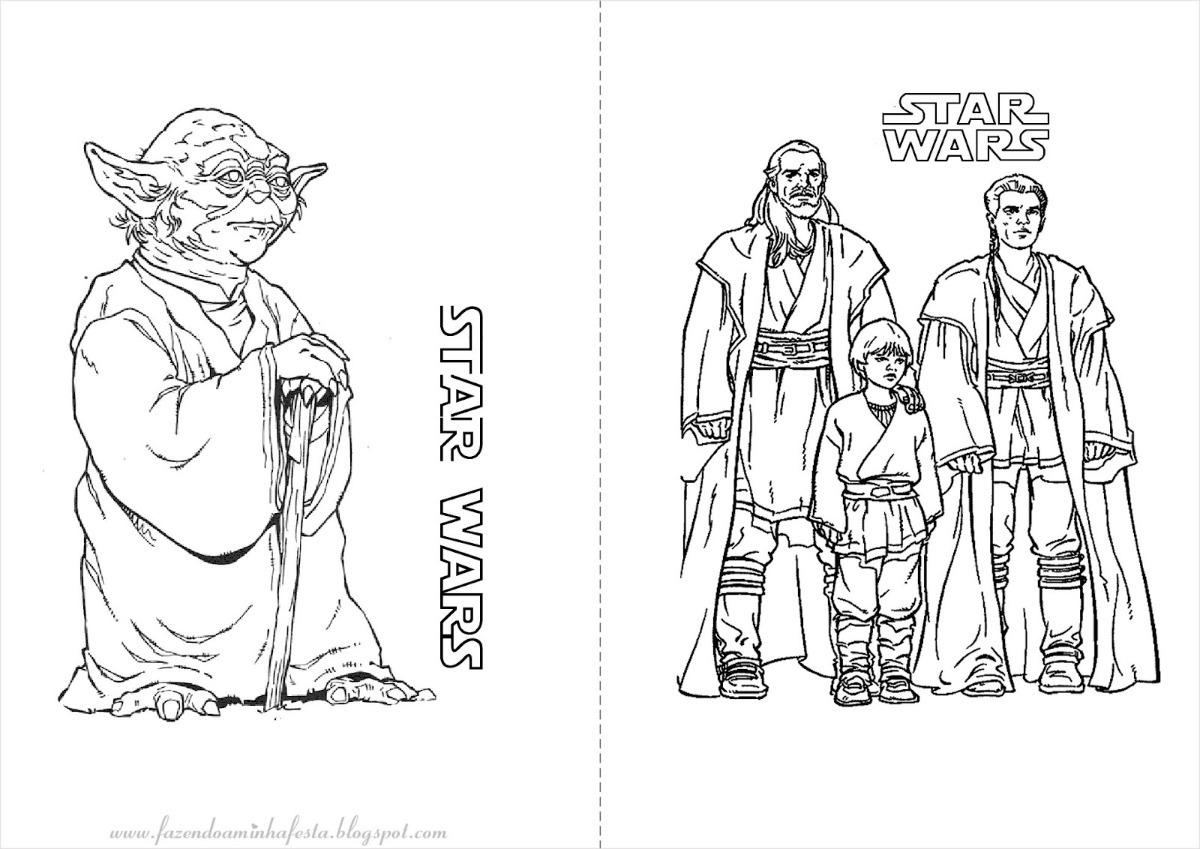 Revista Star Wars Para Colorir Jumbo