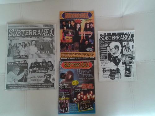 revista subterránea fanzine ecuador