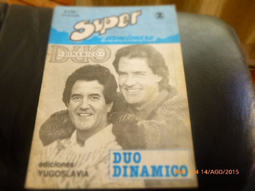 revista super cancionero  --duo dinamico (663