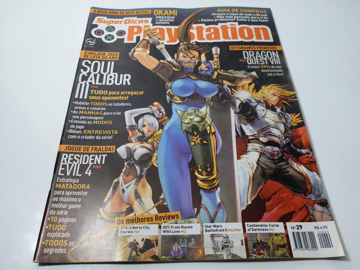 51a14b5bfa3 Revista Super Dicas Playstation N° 29 - R  7