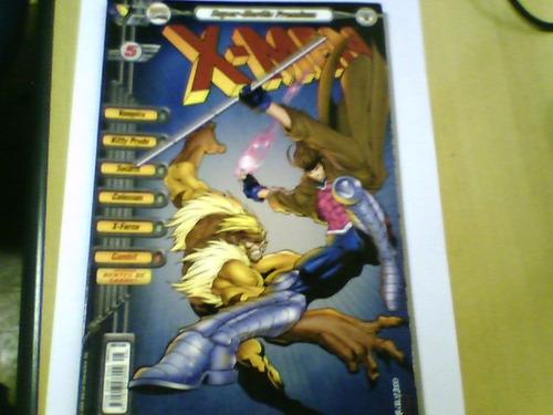 revista super-heróis premium x-men nº5 abril 2000