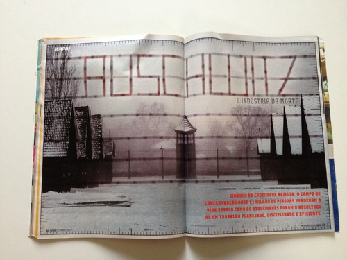 revista super interessante auschwitz  fábrica de matar n°243