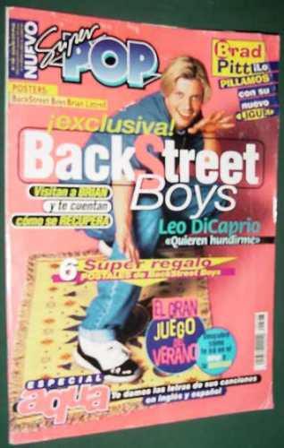 revista super pop 528 backstreet boys aqua di caprio moffatt