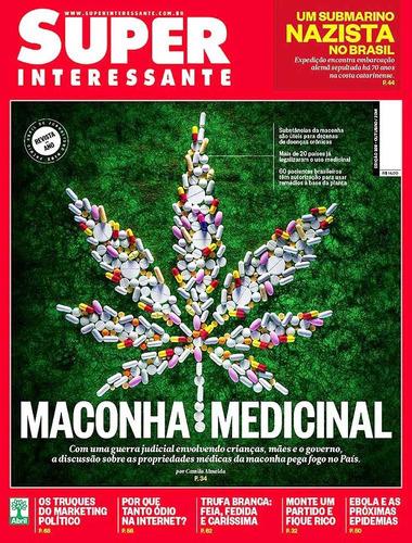 revista superinteressante 338 = maconha medicinal lacrada!