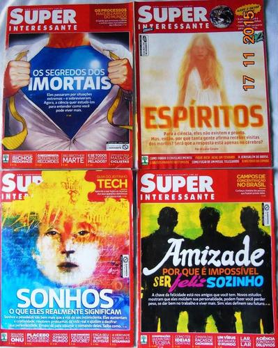 revista superinteressante - lote c/ 21 - 1998 à 2012