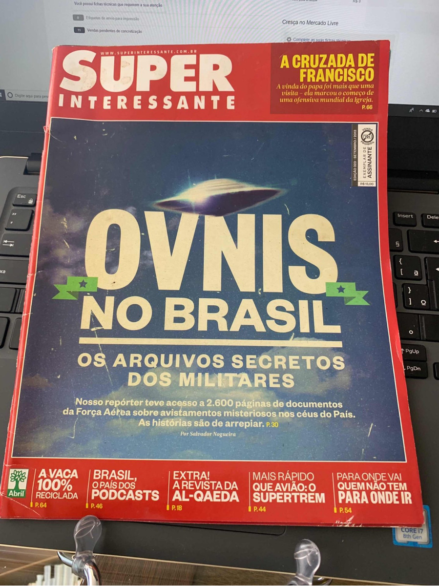 revista superinteressante ovnis no brasil