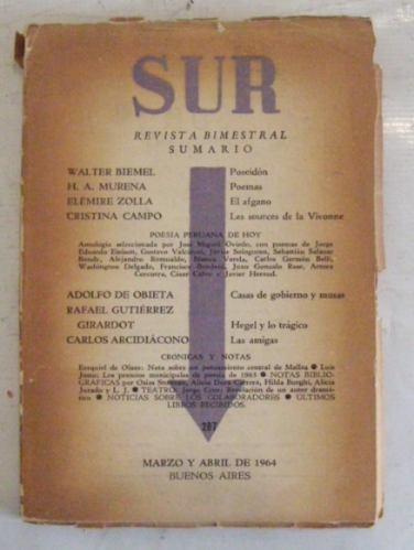 revista sur n° 287- marzo abril de 1964