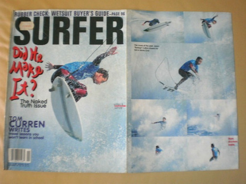 revista surfer magazine inglês importada nov-1994-n11-vol.35