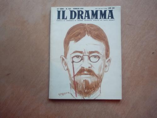 revista - teatro - il dramma - gennaio 1959 - em italiano