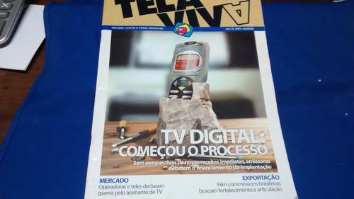 revista tela viva tv digital setembro de 2006 r$ 15,00