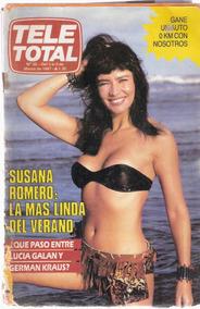 Revista Tele Total Romero Cantudo Madonna Casan Faiad