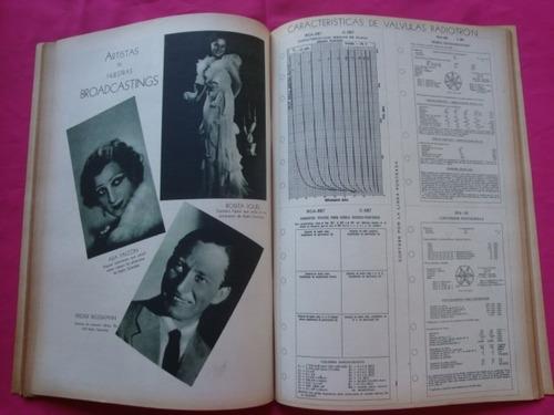 revista telegrafica radio año 1935 ada falcon rosita iquel