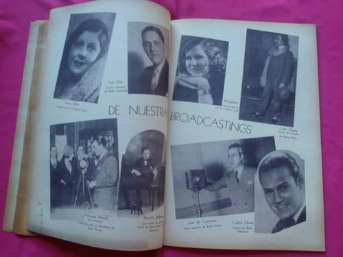 revista telegrafica radio n° 253 oct 1933 juan carlos torry