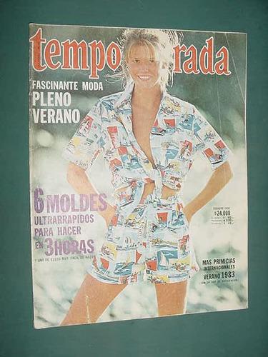revista temporada sin moldes ropa 2/82 verano primicias