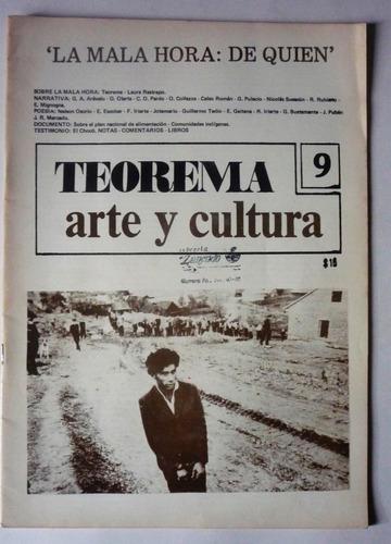revista teorema arte y cultura numero 9