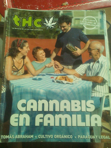 revista thc n° 14 cannabis en familia marzo 2009