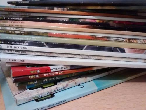 revista thc varios números.