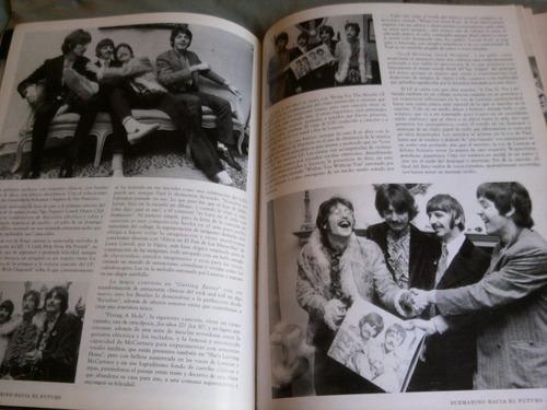 revista the beatles coleccion de imagenes de rock.