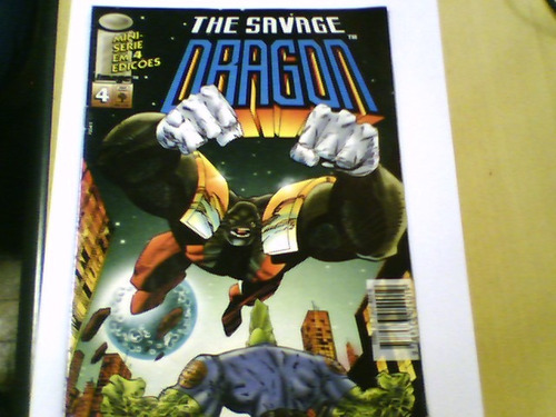 revista the savage dragon parte 4 de 4 abril jovem 1993
