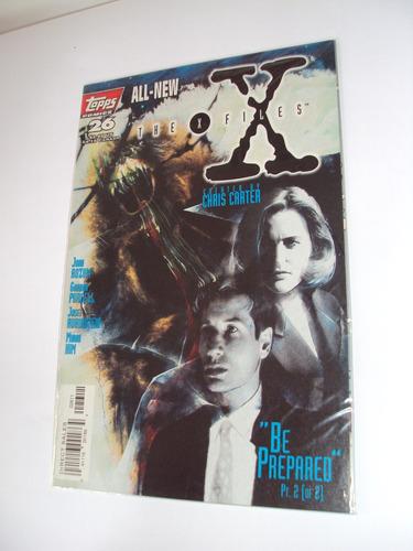 revista the x files nº 26 - importada