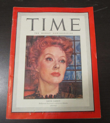 revista time 1943 greer garson hollywood discovered