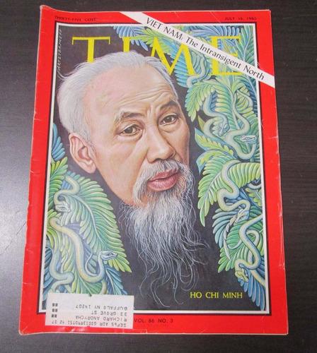 revista time 1965 viet nam the intransigent north ho chi min
