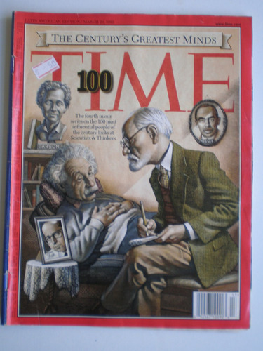 revista time 1999 20th century's greatest minds special edit
