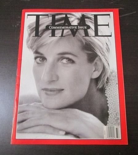 revista time commemorative princesa diana sept 1997