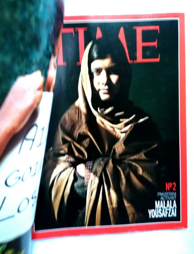 revista time. dic 2012. person of the year. para coleccionar