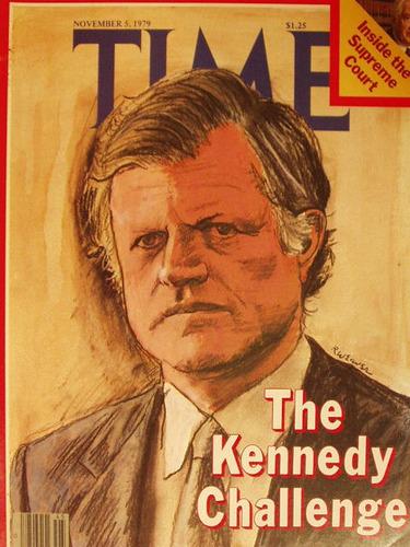 revista time magazine 1979 el reto de kennedy en la plata