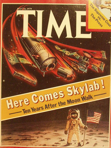 revista time magazine 1979 viene laboratorio espacial