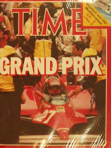 revista time magazine 1981 grand prix en la plata
