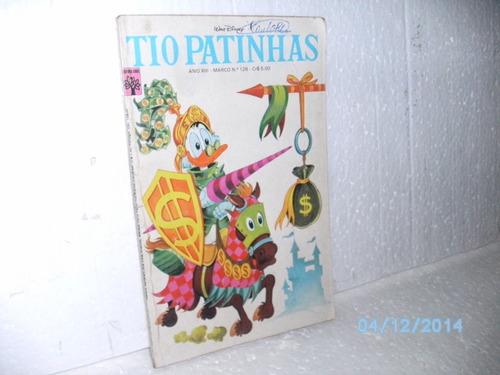 revista tio patinhas nº128 ed. abril 1976- boa hq e gibi fj