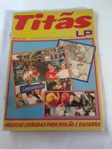 revista titãs lp