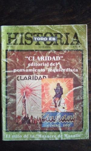 revista todo es historia n° 172 - septiembre 1981