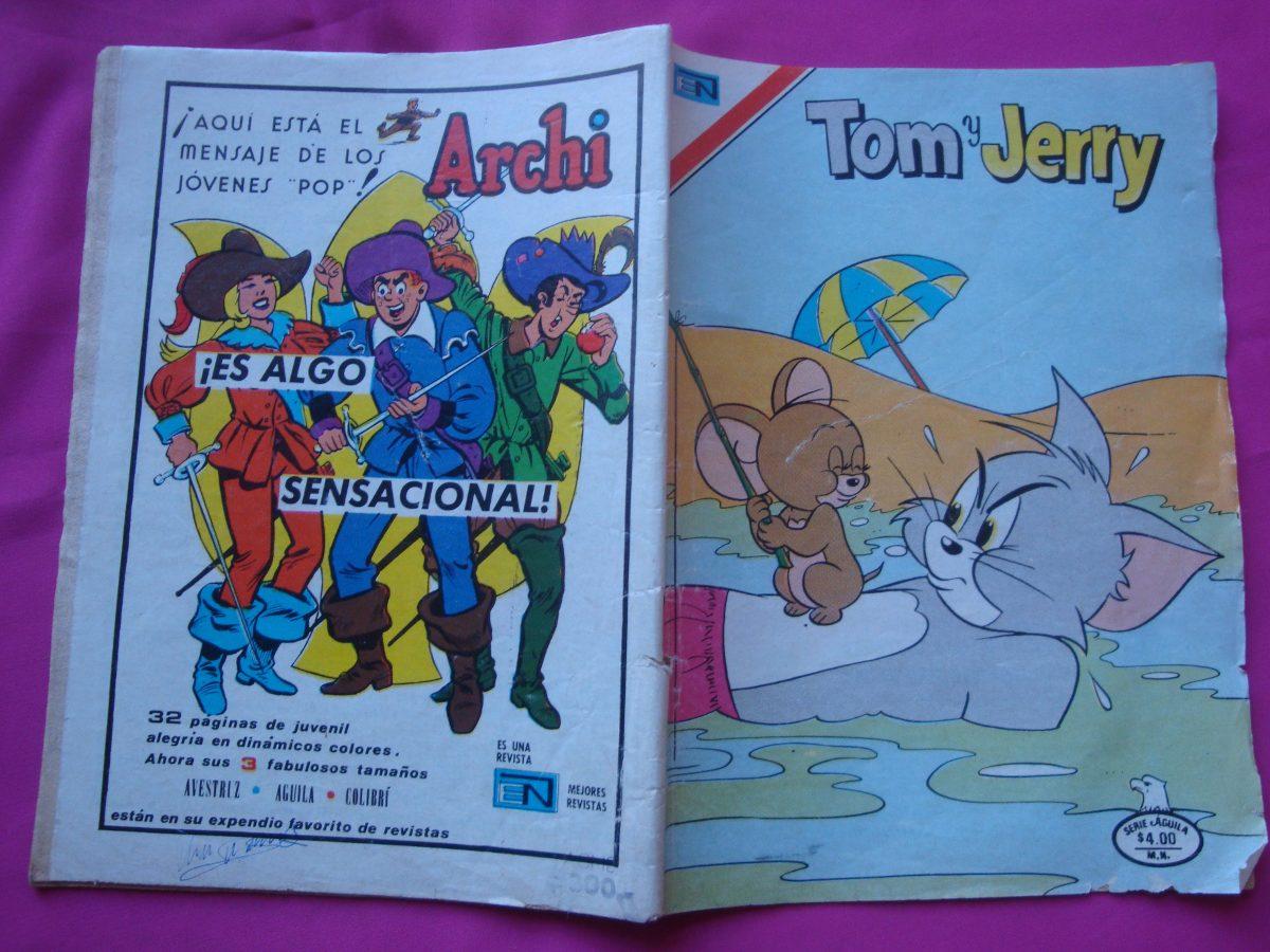 Revista Tom Y Jerry N°2 528 Editorial Novaro Serie Aguila - $ 55,00 ...