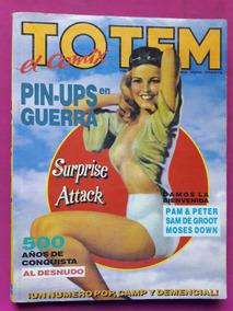 Revista Totem El Comix Numero 40 Al 42 Conquista Al Desnudo