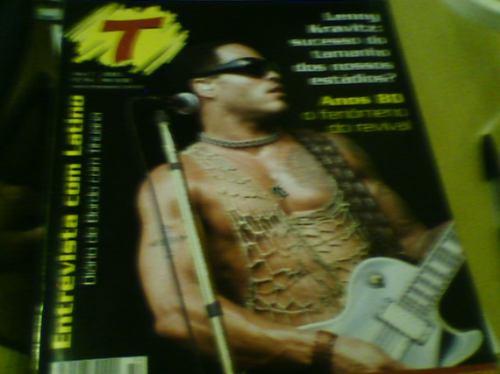 revista transamérica n°54 lenny kravitz 2005